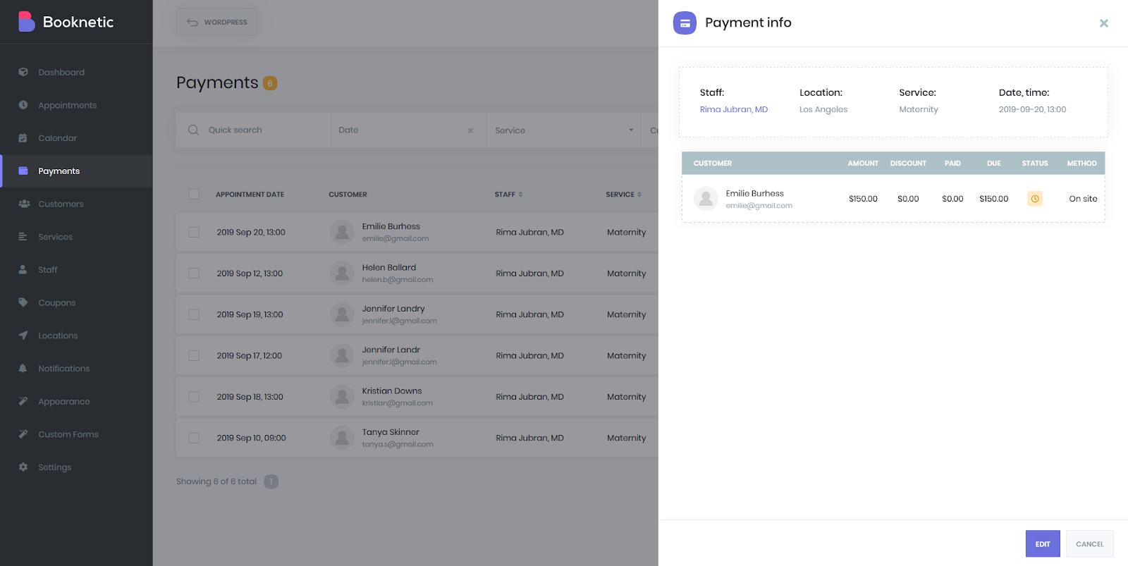 Booknetic Payments documentation