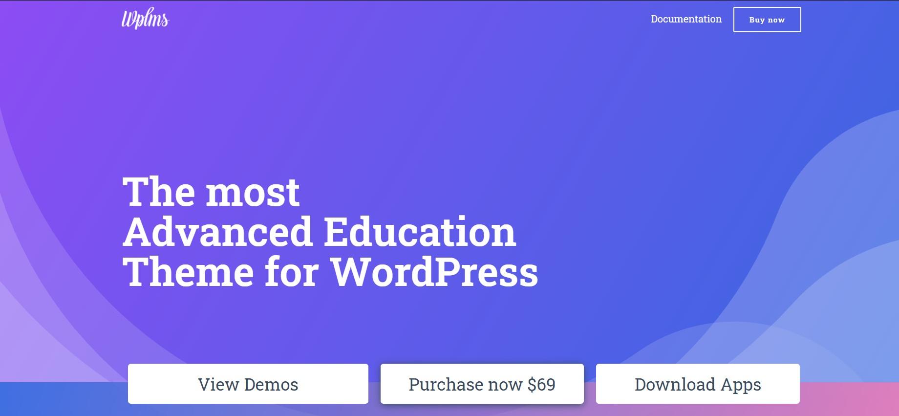 WPLMS wordpress theme for education websites