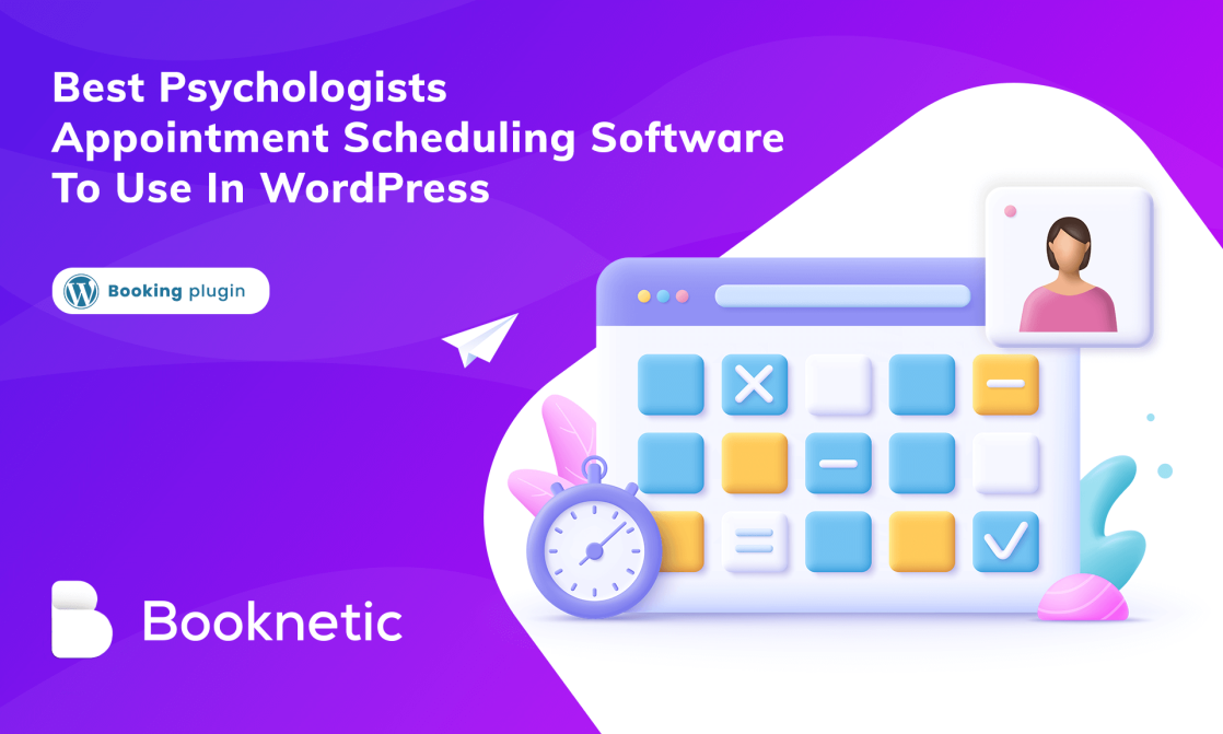 Best psychologists appointment scheduling software to use in WordPress