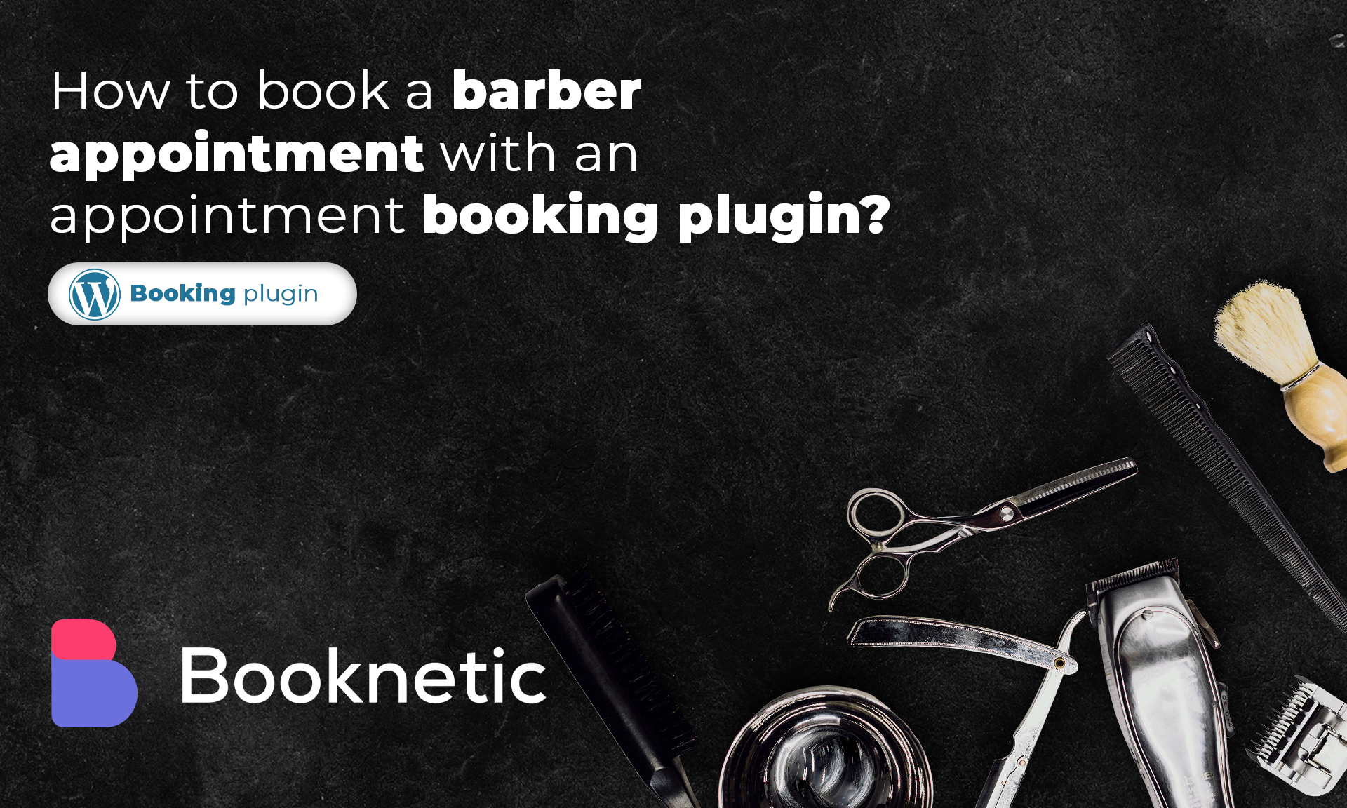 How to book a barber appointment with an appointment booking plugin?