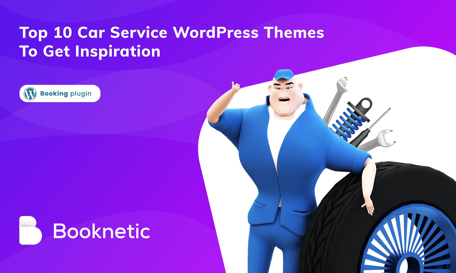 Top 10 car service wordpress themes to get inspiration