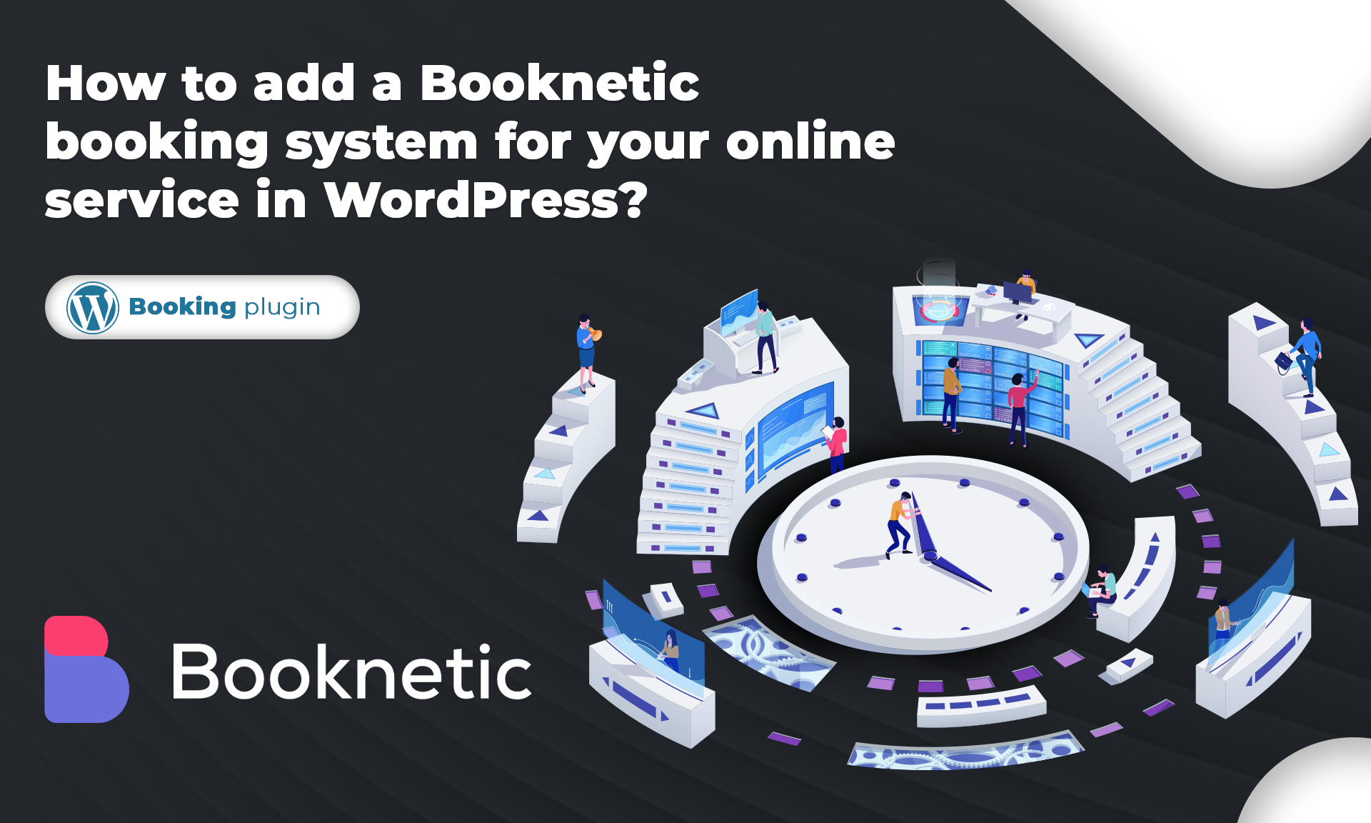 How to add a Booknetic booking system for your online service in WordPress?