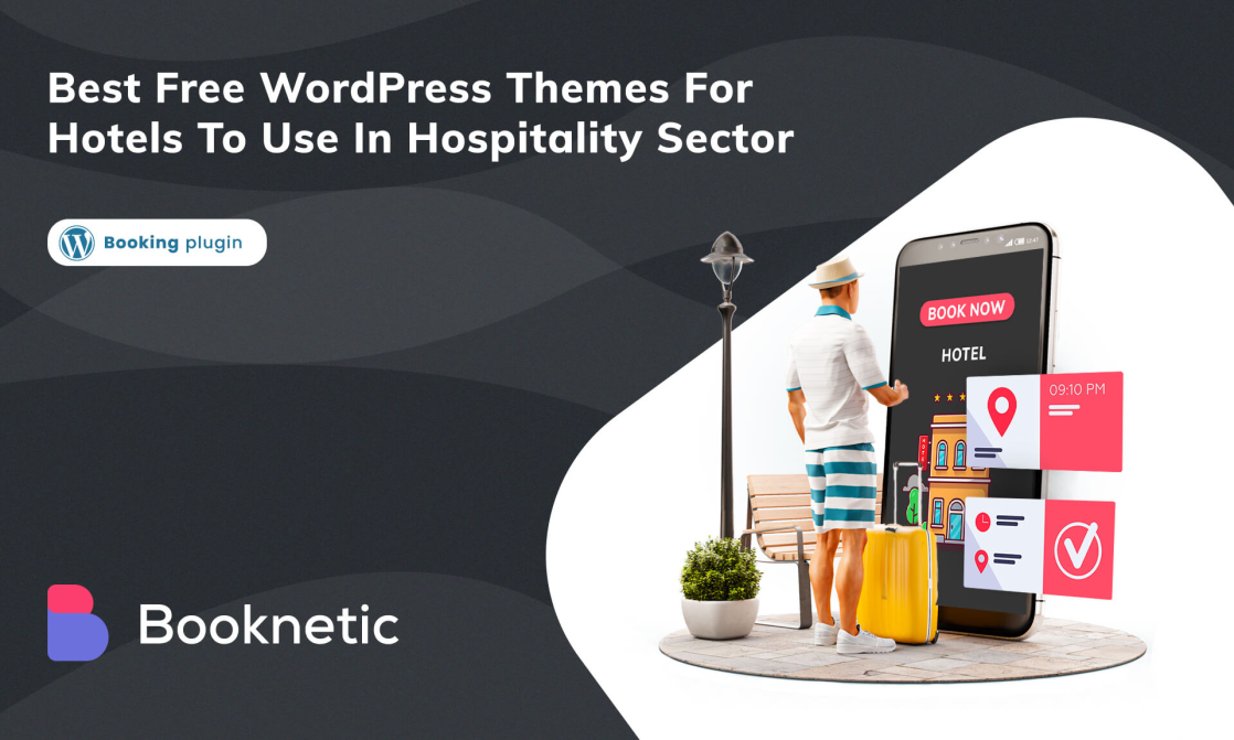 Best free WordPress themes for hotels to use in hospitality sector