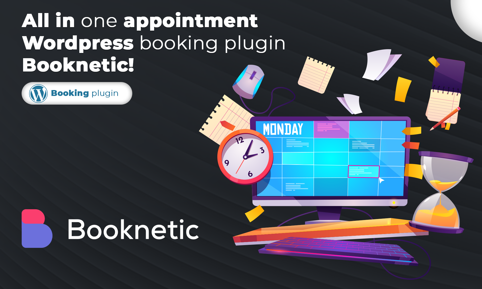 All in one appointment WordPress booking plugin Booknetic