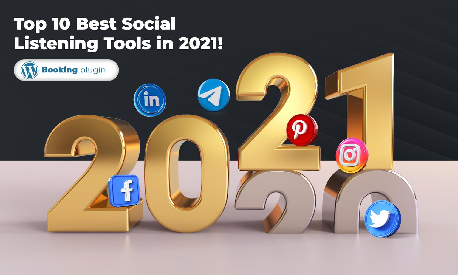 Top 10 Best Social Listening Tools in 2021